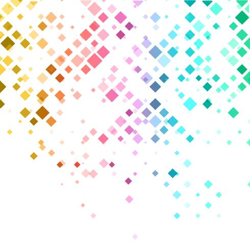 Abstract background with diamond pattern vector