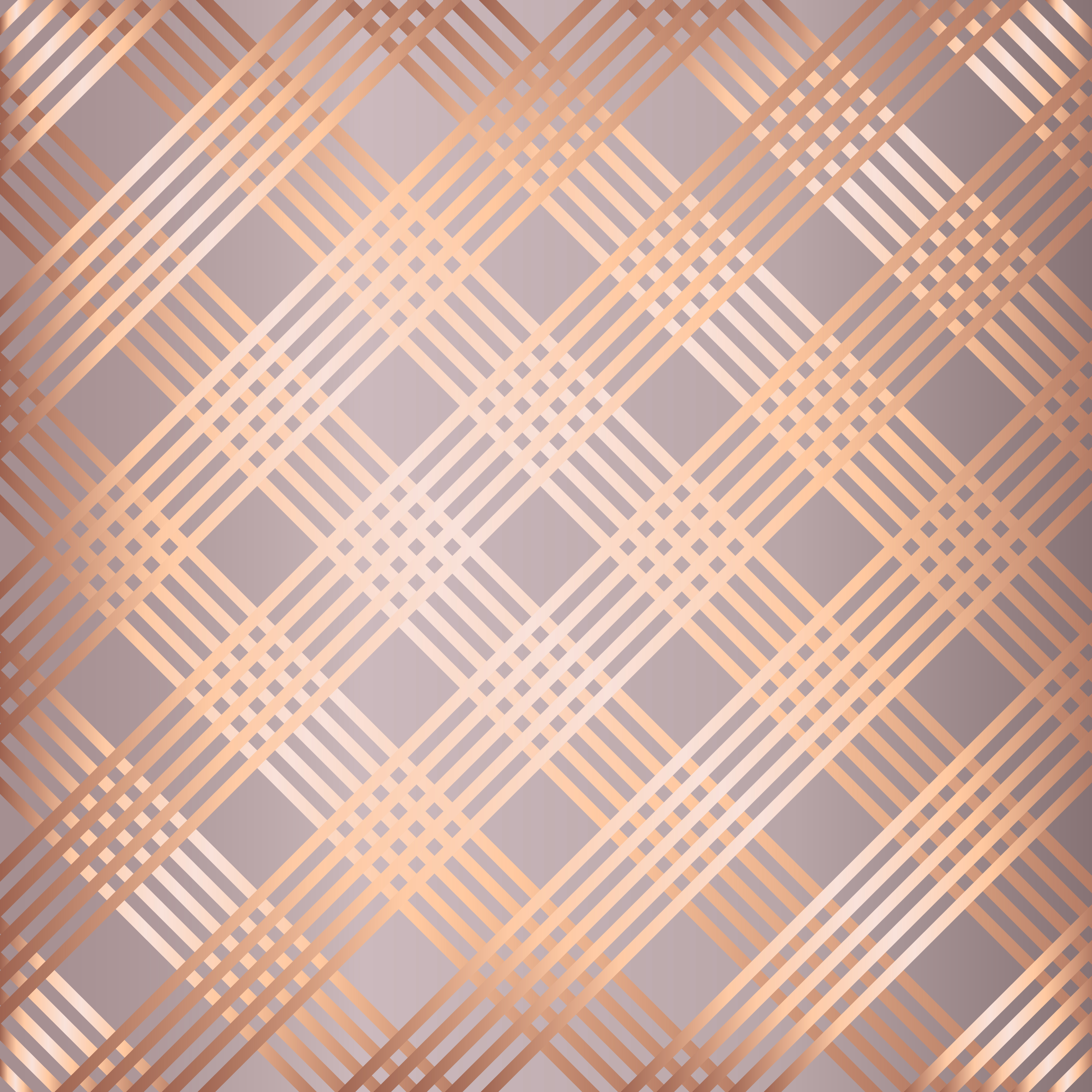 Abstract Rose Gold Striped Pattern Background Download