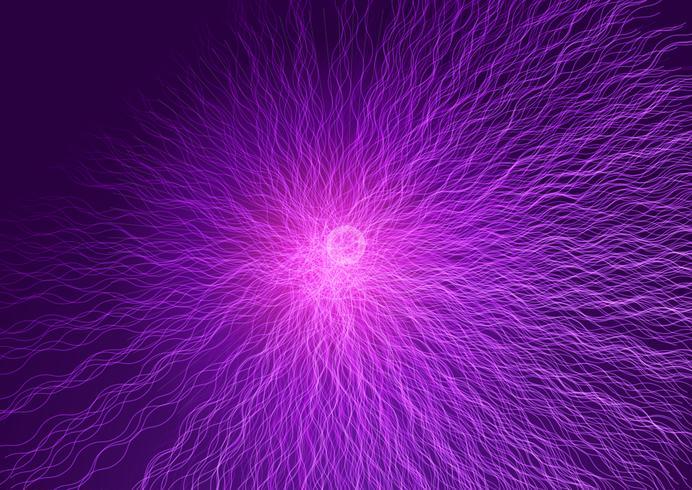 Línea abstracta fondo de explosión