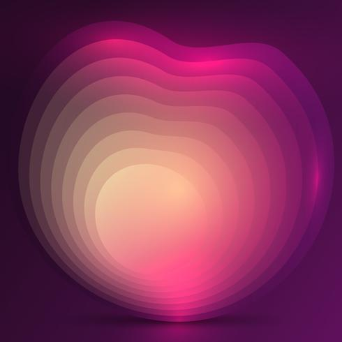 Abstract gradient design background