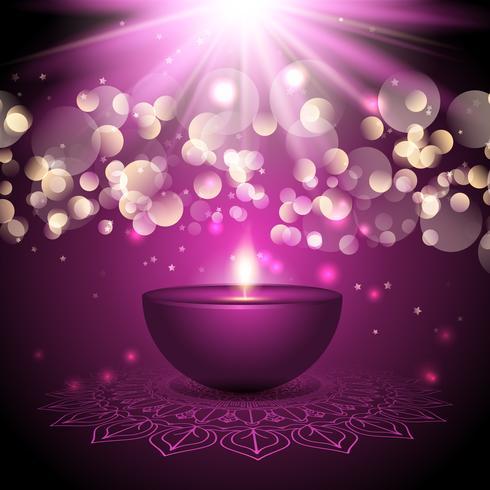 Diwali-lampachtergrond