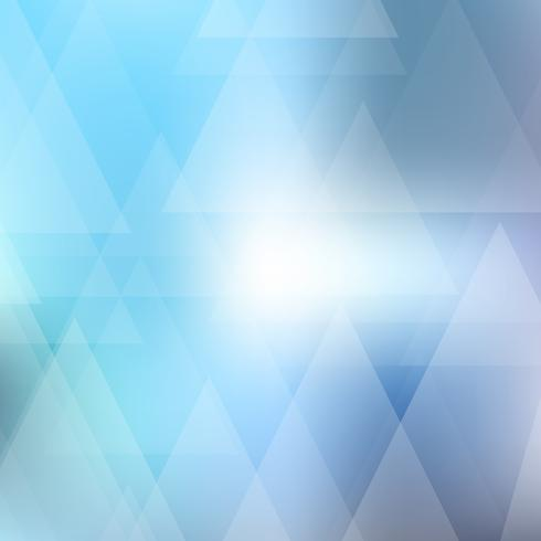 Abstract background with low poly triangular design