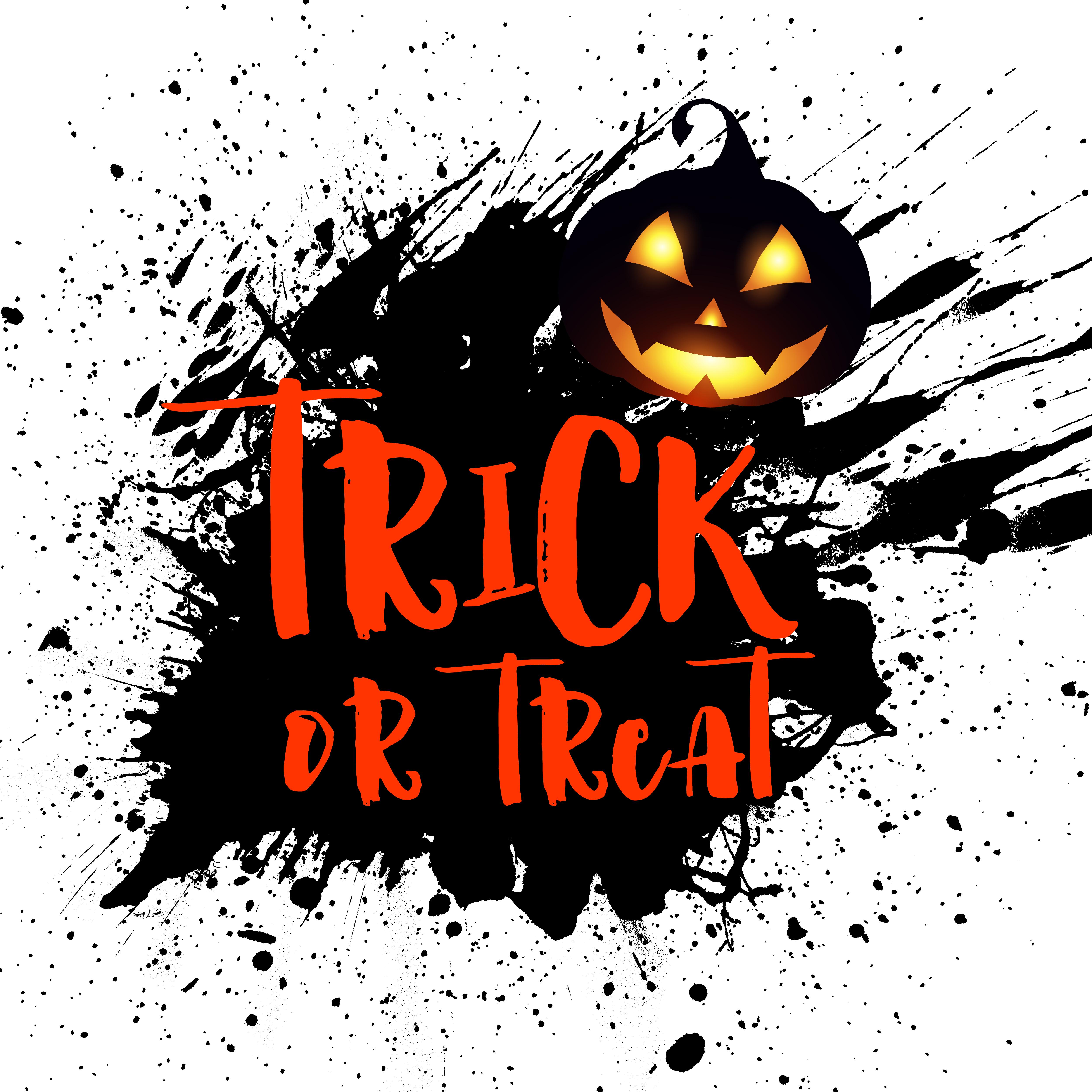 Grunge Halloween background with pumpkin - Download Free ...