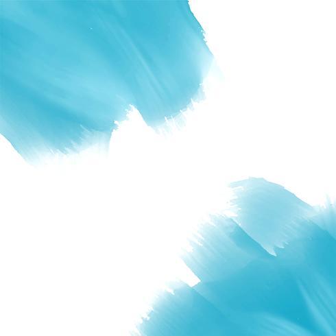 Himmelblauer Aquarelllackeffekthintergrund