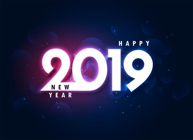 Fondo d'ardore variopinto del buon anno 2019