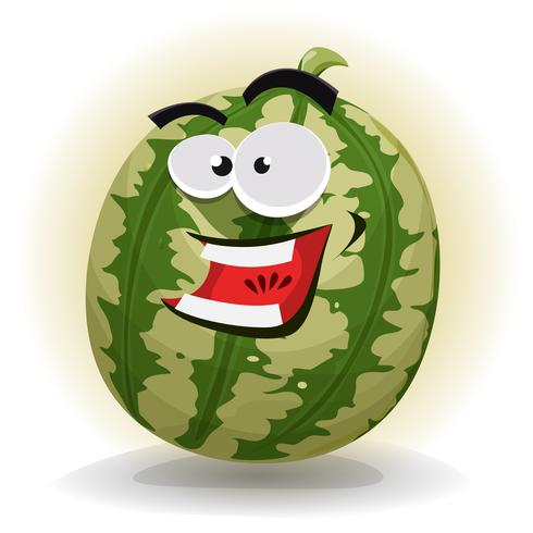 Wassermelone-Charakter