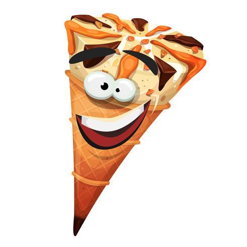 Carácter de cono de helado