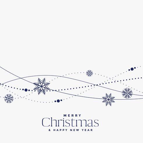 design minimale della decorazione di Natale