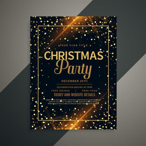 modelo dourado bonito do insecto do Natal dos sparkles