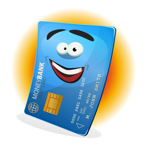 Icône de carte de crédit vecteur