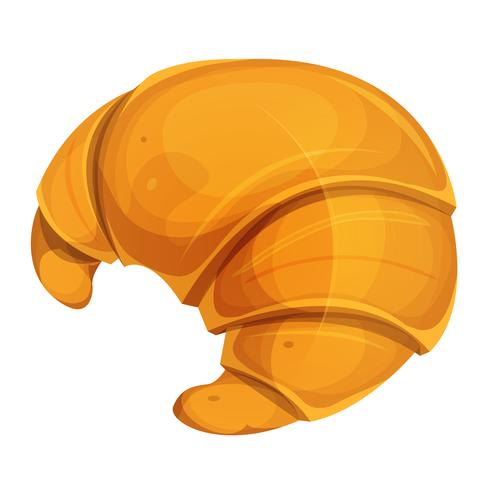 Icona francese del croissant