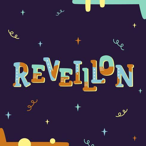 Reveillon Brasil Ano Novo Vector