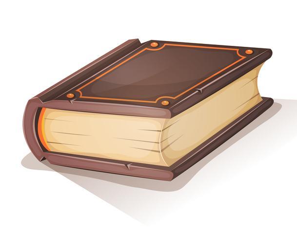 Cartoon oud boek