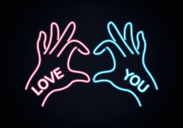 Love hand sign download free vectors clipart graphics for Love sign
