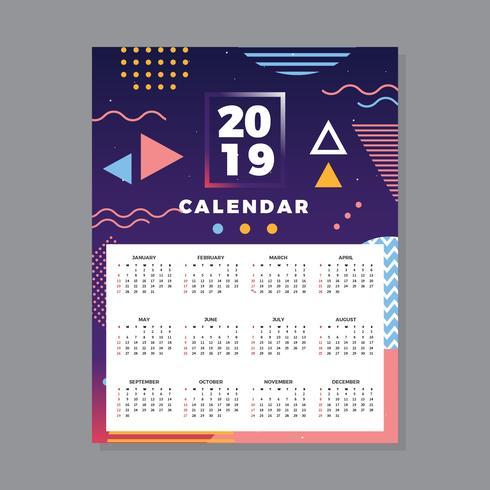 2019行事曆 免費下載 | 天天瘋後製