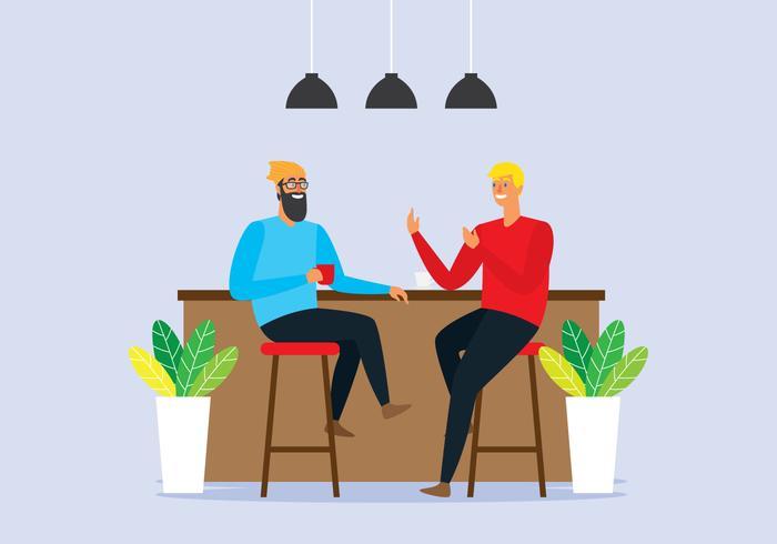 Meet At Coffee Shop