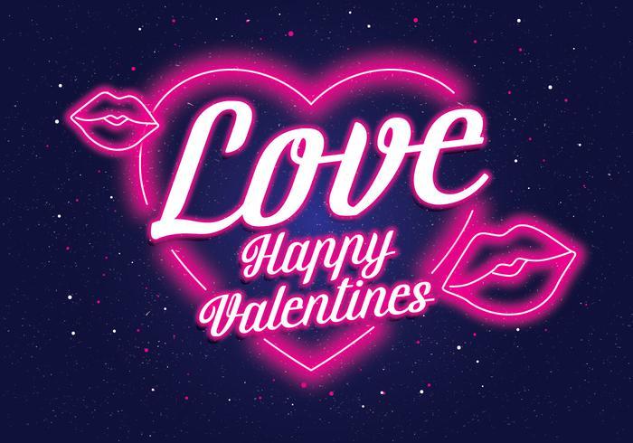 Néon Valentine Vol 2 Vector
