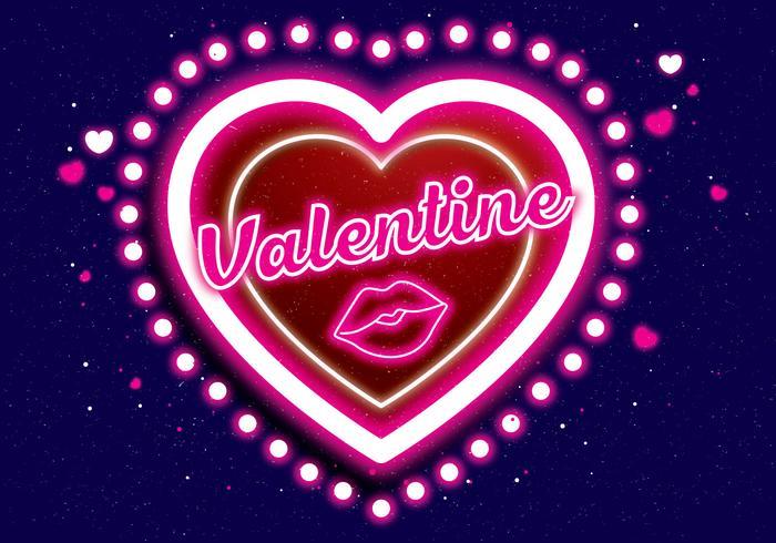 neon valentine vol 3 vector