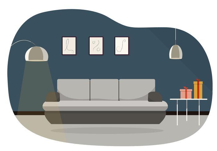 Vector sala de ilustração