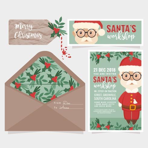 Invitation à l'atelier du père Noël