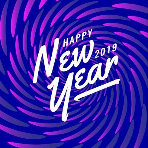 Guten Rutsch ins Neue Jahr Instagram Post-Zusammenfassungs-Hintergrund