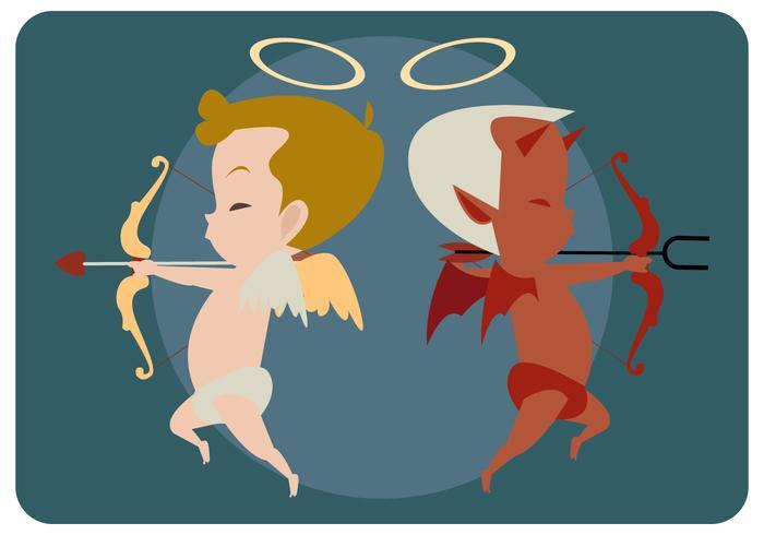 Cupidon avec son mauvais vecteur