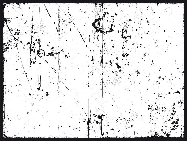 Grunge Texture In Black And White vector