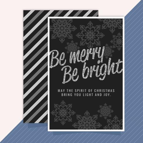 Vektor-Weihnachtskarte