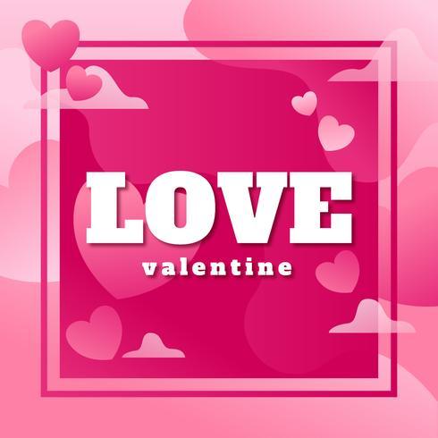 Liebe Valentine Poster