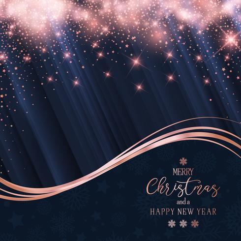 Fundo de brilho de Natal e ano novo