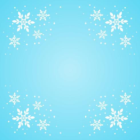 Sneeuwvlok rand