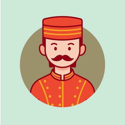 piccolo vector avatar