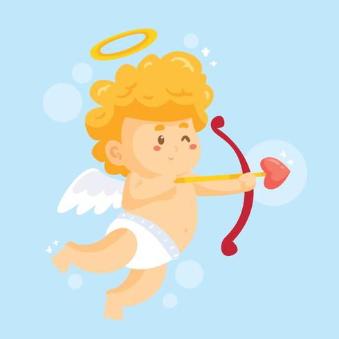 Leuke Cupido Vector