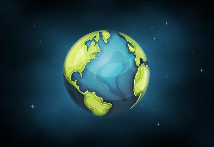 Planet Erde Hintergrund