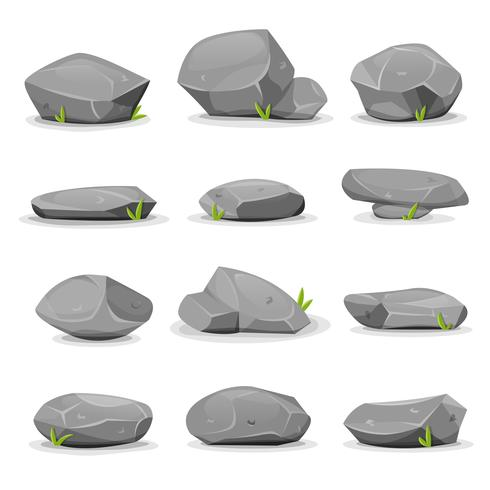 Rocks and Boulders Set