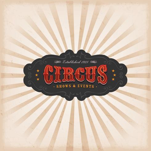 Zirkus Hintergrund Mit Textur