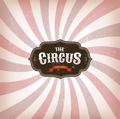 Zirkus-Hintergrund mit Grunge-Textur