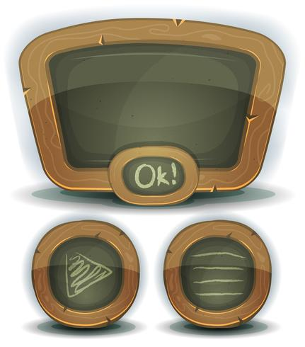 School Chalkboard Icons For Ui Game