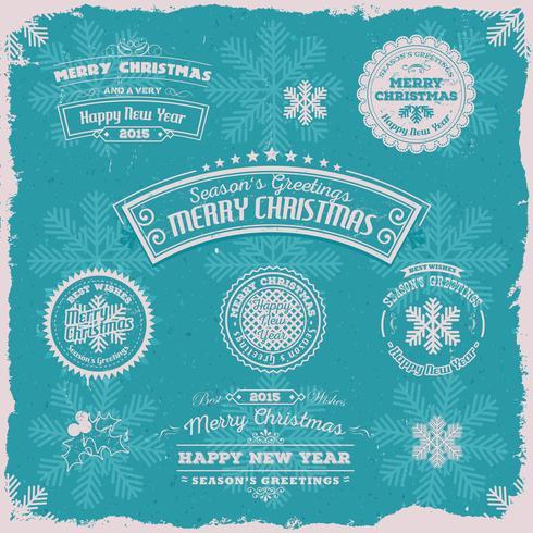 Grunge Season's Greetings Banners