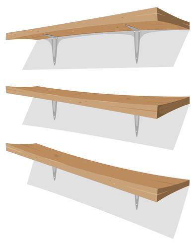 Houten Plank Voor Aan De Muur.Houten Plank Op De Muur Download Gratis Vectorkunst En Andere