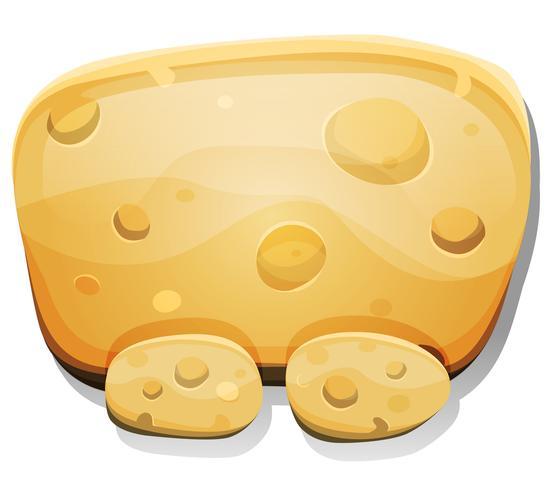 Cartoon Cheese Sign per Ui Game