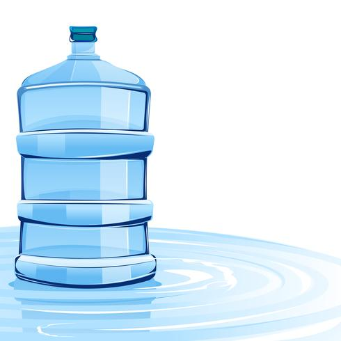 Water Container vector