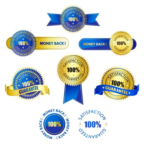 Set of Badges vector