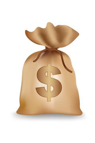 Dollar-Tasche