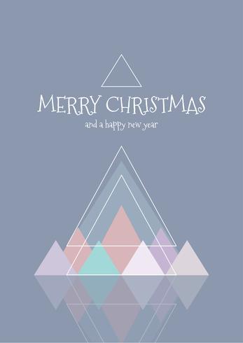 Skandinavische Weihnachtskarte
