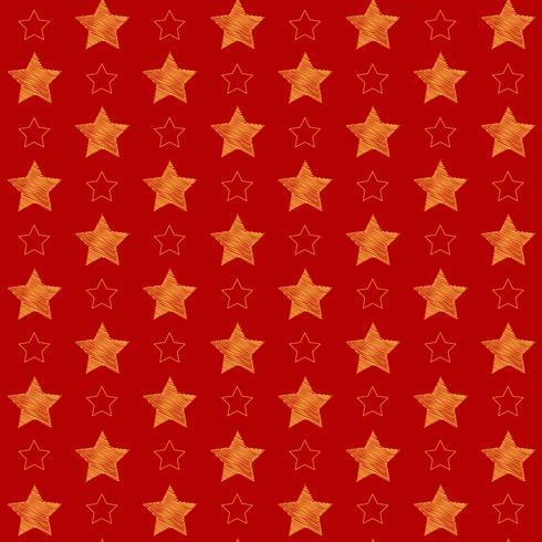 Fondo de estrellas de navidad vector