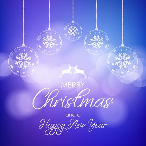 Dekorativer Hintergrund für Weihnachten und Neujahr