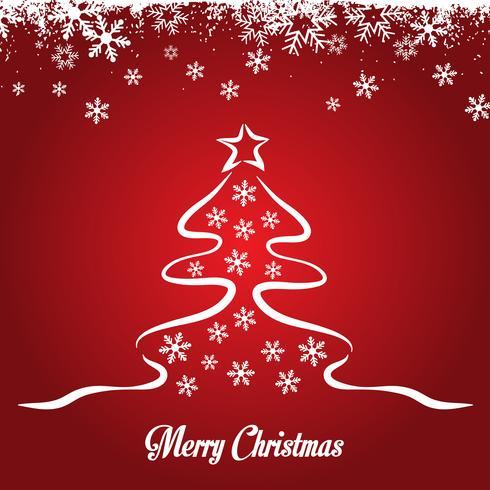 Bosquejado diseño del árbol de navidad