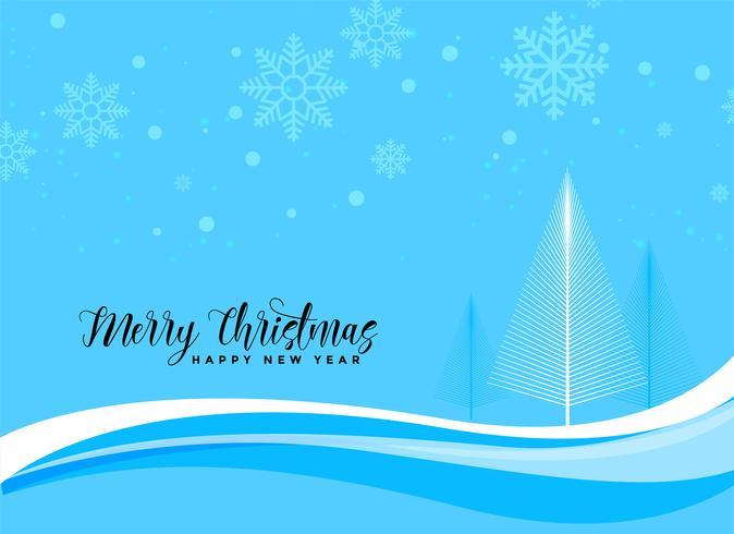 blaues Weihnachten schöne Szene Hintergrund
