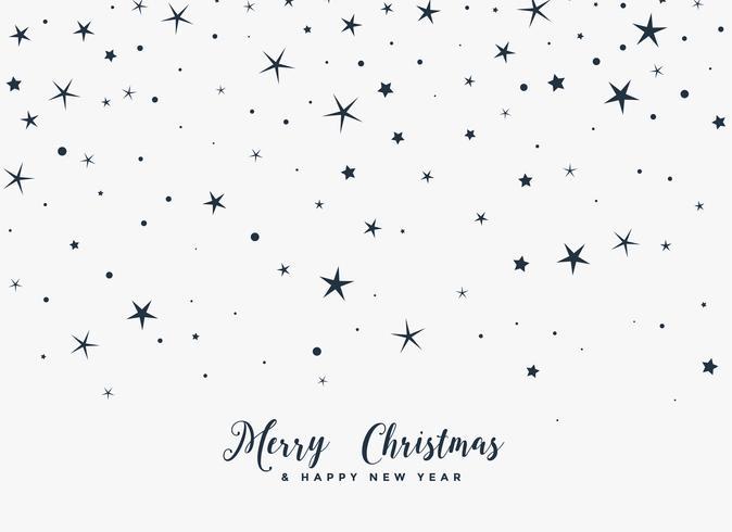 feliz navidad fondo de estrellas fugaces